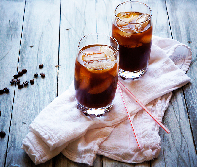 холодный кофе