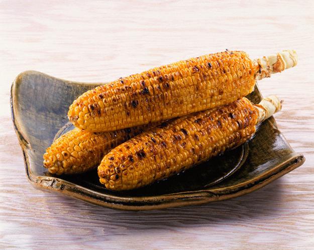 Печеная кукуруза