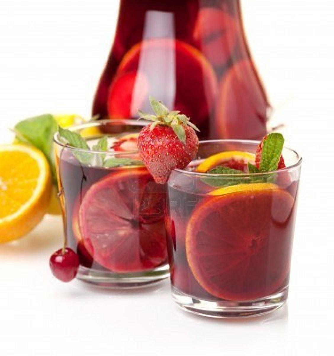 летние освежающие коктейли с фруктами рецепты