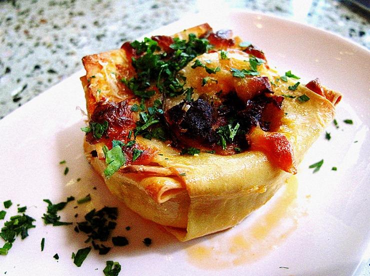 Простые рецепты разных кухонь мира: Мини-Лазанья