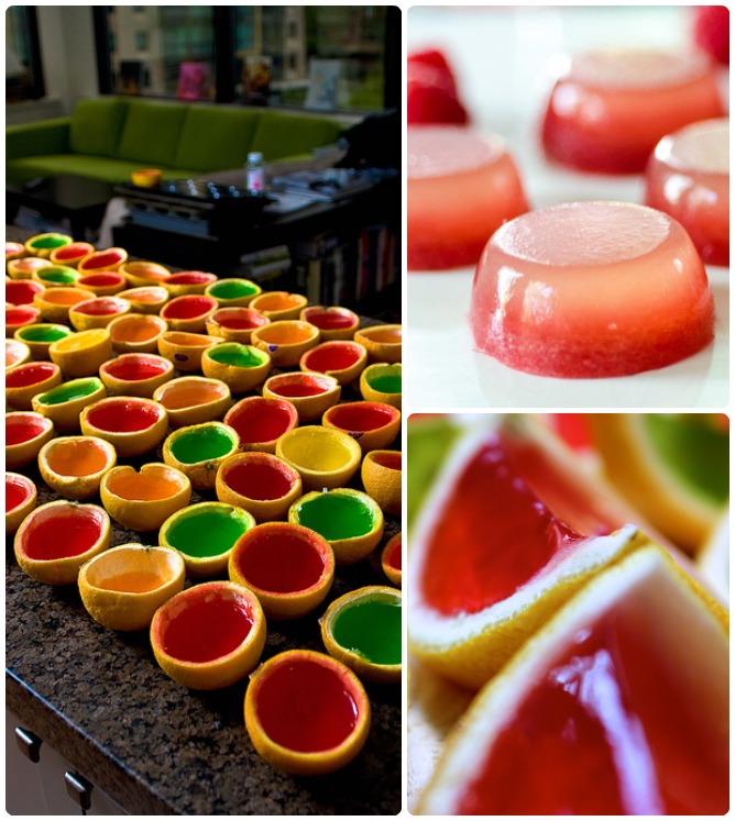 Как сделать аппетитные желейные шоты