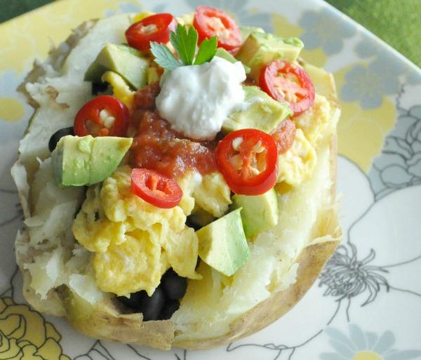 Запечённый картофель на завтрак