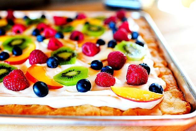 Пицца «Фруктовая тарелка»