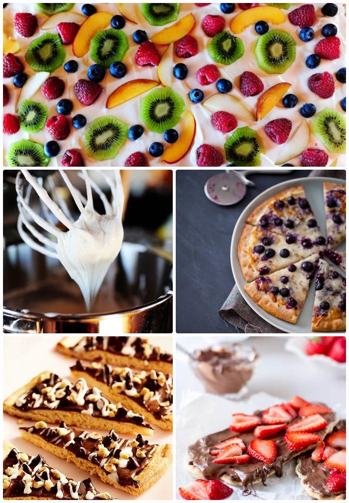 Сладкая пицца: 10 умопомрачительных рецептов