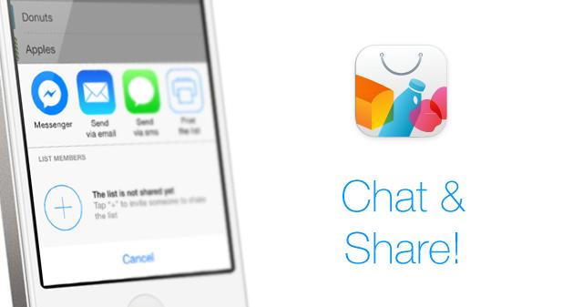 facebook messenger sharing