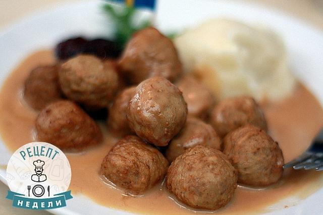 шведские фрикадельки рецепт
