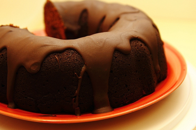 Fudge coffee cake recipe