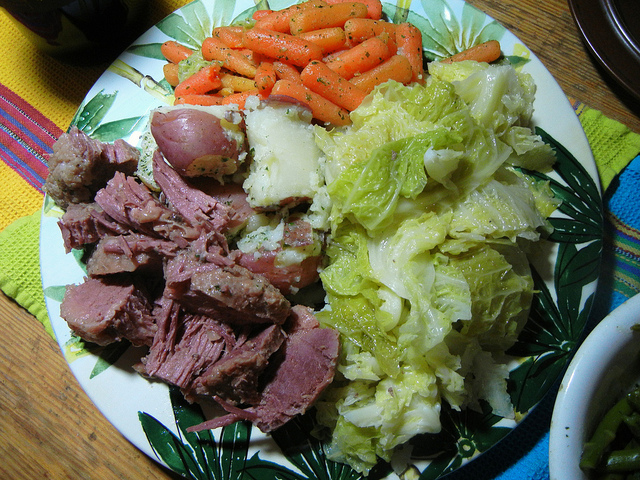 St. Patrick's Day beef