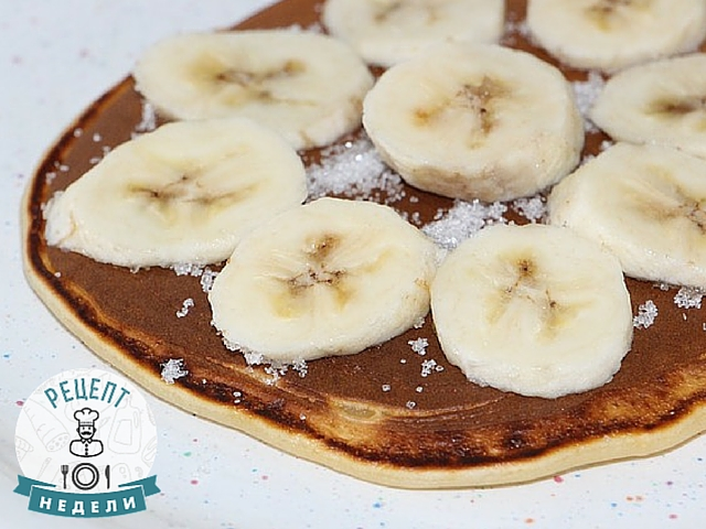 банановые блинчики рецепт