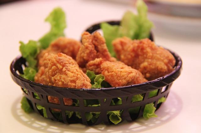 хрустящая курица рецепты