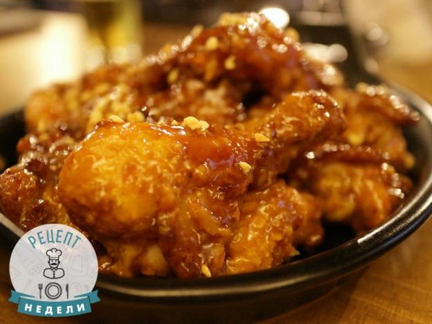 Рецепт курицы барбекю