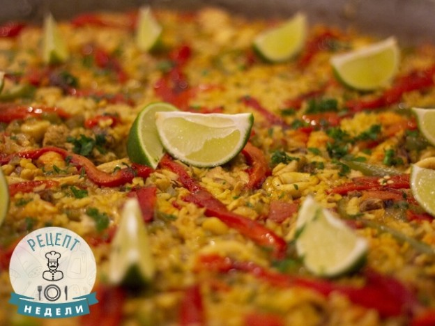 рецепт риса по-мексикански